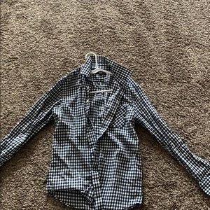 Long sleeve button down. Never worn.